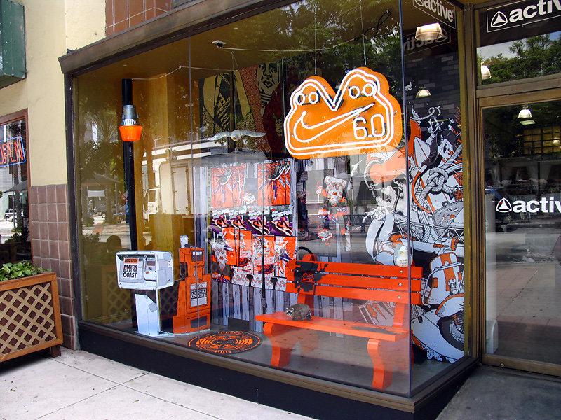 Nike 6.0 Retail Window