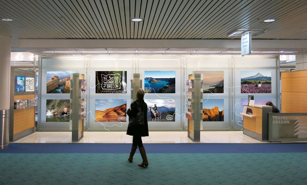 PDX Airport Installation